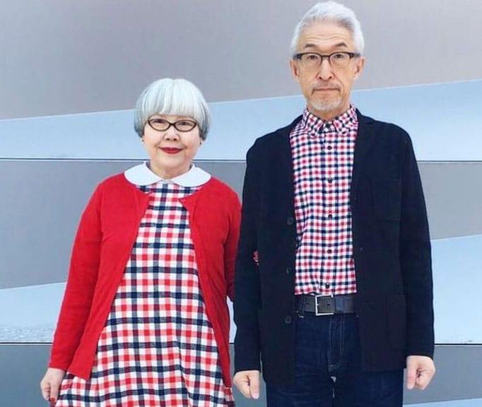 personas mayores moda